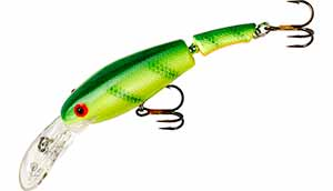 Cotton Cordell Wally Divers 042 - Chartreuse Perch