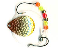 K & E Stopper Lures Pro-Flash Rig Gold Clown