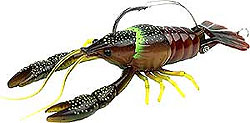 River2Sea Dahlberg Clackin' Crayfish 04 - Brown Olive