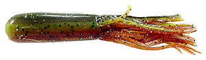Cruncher Baits Laminated Salty Tubes 612 - Mud Craw