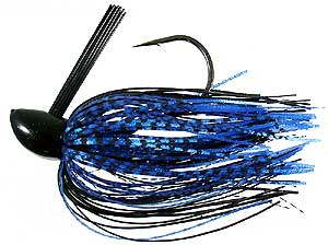 D&L Tackle Advantage Series Jigs Black/Blue/Fish Scale