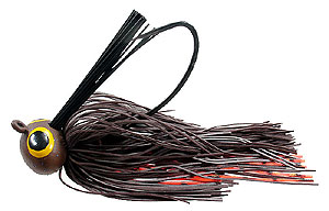 Lethal Weapon  Drag Queen Football Jigs 13 - Brown Craw