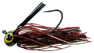 Lethal Weapon  Drag Queen Football Jigs 17 - Red Craw