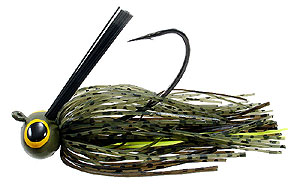 Lethal Weapon  Drag Queen Football Jigs 46 - Mixed Melon Chartreuse