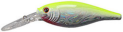 Berkley Frenzy Flicker Shad Slick Chartreuse Pearl