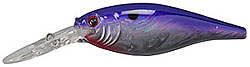 Berkley Frenzy Flicker Shad Slick Purple Pearl