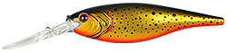 Berkley Frenzy Flicker Shad Speckled Black Gold
