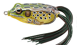 Koppers  Live Target Hollow Body Frog 514 - Emerald/Brown