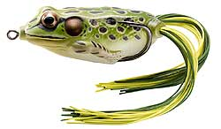 Koppers  Live Target Hollow Body Frog 500 - Green/Yellow