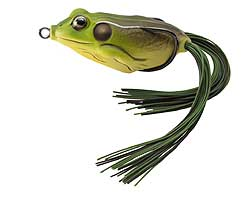 Koppers  Live Target Hollow Body Frog 508 - Green/Brown