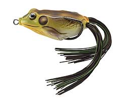 Koppers  Live Target Hollow Body Frog 509 - Green/Sienna