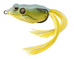 Koppers  Live Target Hollow Body Frog 511 - Yellow/Blue