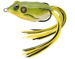 Koppers  Live Target Hollow Body Frog 513 - Bright Green