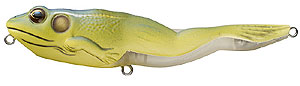 Koppers  Live Target Walking Frog 511 Yellow/Blue