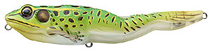 Koppers  Live Target Walking Frog 512 Fluorescent Green/Yellow