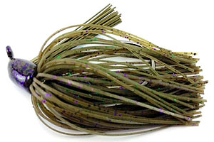 Fat Sack Tackle Finesse Jig 24 - Sprayed Grass
