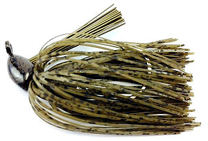 Fat Sack Tackle Finesse Jig 25 - Green Pumpkin