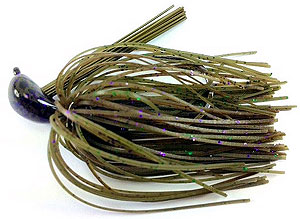 Fat Sack Tackle Rock Crawler Jig 24 - Sprayed Grass