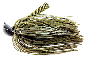 Fat Sack Tackle Rock Crawler Jig 25 - Green Pumpkin