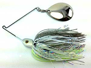 Fat Sack Tackle Thump-em-Up Spinnerbait 06 - Anytime Shad