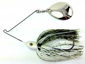 Fat Sack Tackle Thump-em-Up Spinnerbait 07 - Gizzard Shad