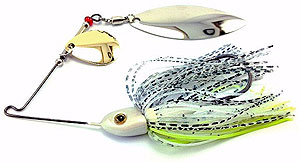 Fat Sack Tackle Ultra Mag Spinnerbait 09 - Chartreuse Shad
