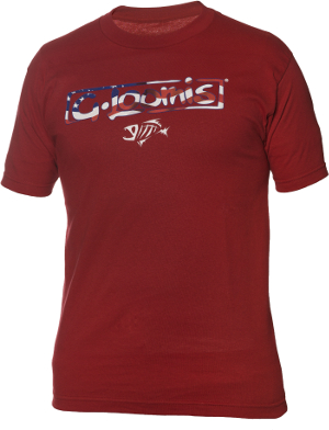 G-Loomis-Red-Tee-Front
