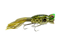 Arbogast Hula Poppers 509 - Bull Frog