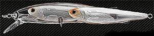 Koppers  Live Target Glass Minnow Baitball Jerkbait 955 - Pearl/Natural