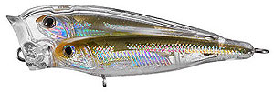 Koppers  Live Target Glass Minnow Baitball Popper 950 - Silver/Natural