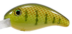 Strike King Pro-Model XD Crankbaits 650 - Chartreuse Perch