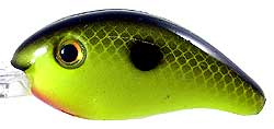 Strike King Pro-Model XD Crankbaits 535 - Black Back Chartreuse