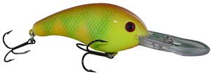 Strike King Pro-Model XD Crankbaits MM1 - MM Pineapple Smash