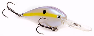 Strike King KVD 1.5 Flat Side Pro-Model Crankbaits 598 - Chartreuse Shad