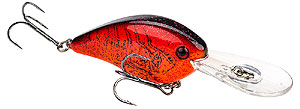Strike King KVD 1.5 Flat Side Crankbait 648 - Chili Craw