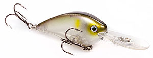 Strike King KVD 1.5 Flat Side Pro-Model Crankbaits 684 - Clearwater Minnow