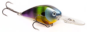 Strike King KVD 1.5 Flat Side Crankbait 651 - Neon Bluegill