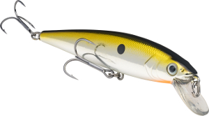 Strike King KVD Slash Bait Jerkbait 506 Chrome Gold-Black