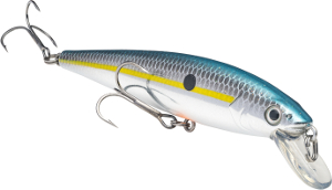 Strike King KVD Slash Bait Jerkbait 514 Chrome Sexy Shad