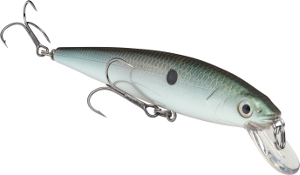 Strike King KVD Slash Bait Jerkbait 568 Green Gizard Shad
