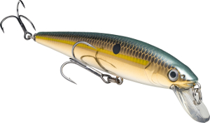 Strike King KVD Slash Bait Jerkbait 620 Gold Sexy Shad