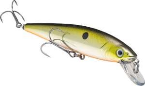 Strike King KVD Slash Bait Jerkbait 685 Silver Tennessee Shad