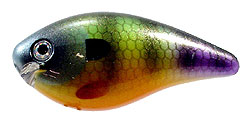 Strike King KVD Square Bill Crankbaits 651 Neon Bluegill