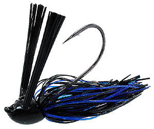 Jethro Baits Head Knocker Double Weed Guard Jig 004 - Ol Black & Blue