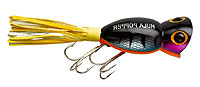 Arbogast Hula Poppers PDS - Wounded Perch
