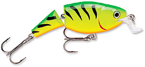 Rapala Jointed Shallow Shad Rap FT Firetiger