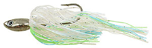 Strikezone Ledgebuster Elite Deep Crankin' Spinnerbait Faded Heron - Silver Blade