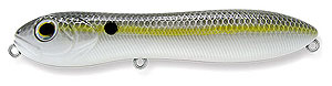 Baker Lures LED Top Water Series P001 - Silver Back