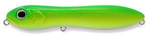 Baker Lures LED Top Water Series P002 - Chartreuse