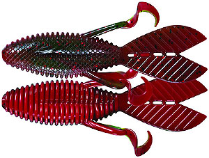 Mister Twister Flip n Out Watermelon Fire Craw